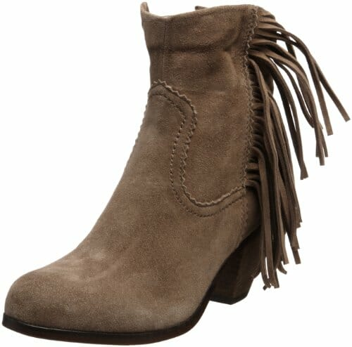 Sam Edelman Women's Louie Ankle Fringe Boot