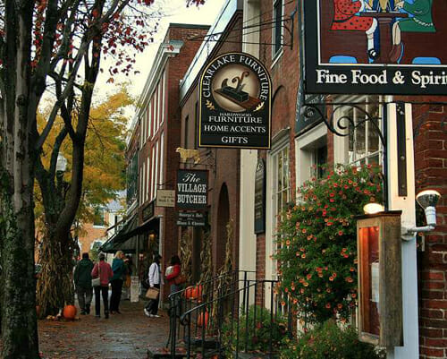 Woodstock Vermont Best Small Town Downtown