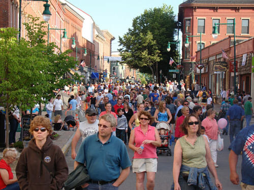 Rockland Maine Best Small Town Downtown