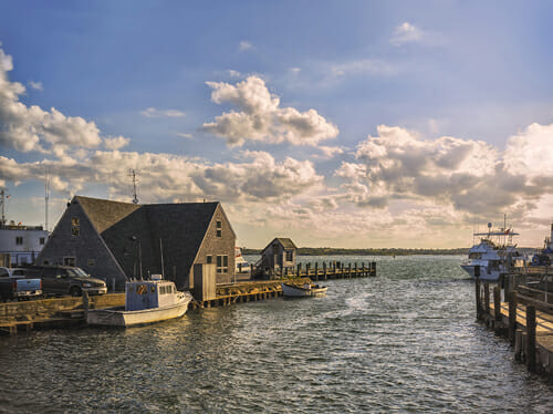 Woods Hole Massachusetts Best Small Town Downtown